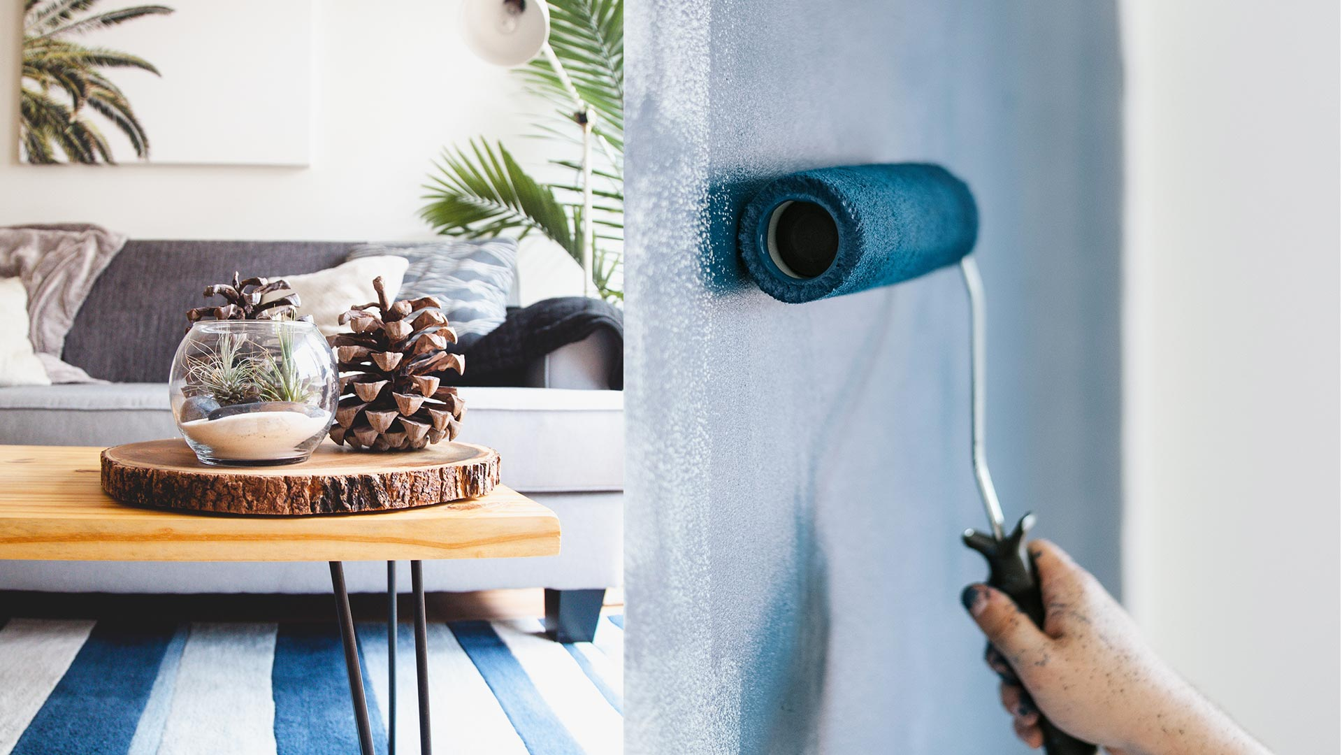 Blue Beautiful Home Decorating Ideas for Warm Weather